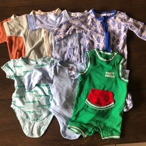Baby 0-3 months bundle (7 items included)